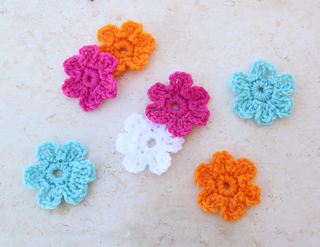 Elegant Easy Crochet Flower for use
