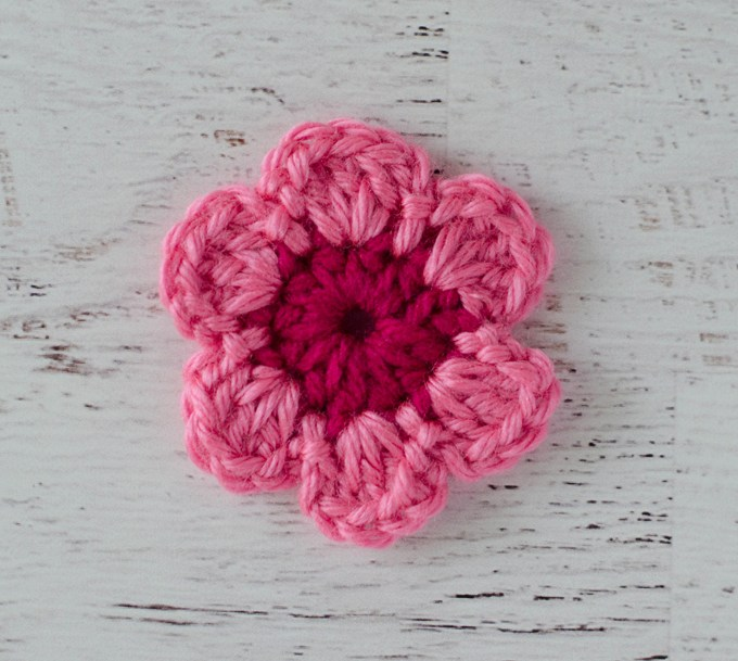 easy crochet flower pattern ahoxneu