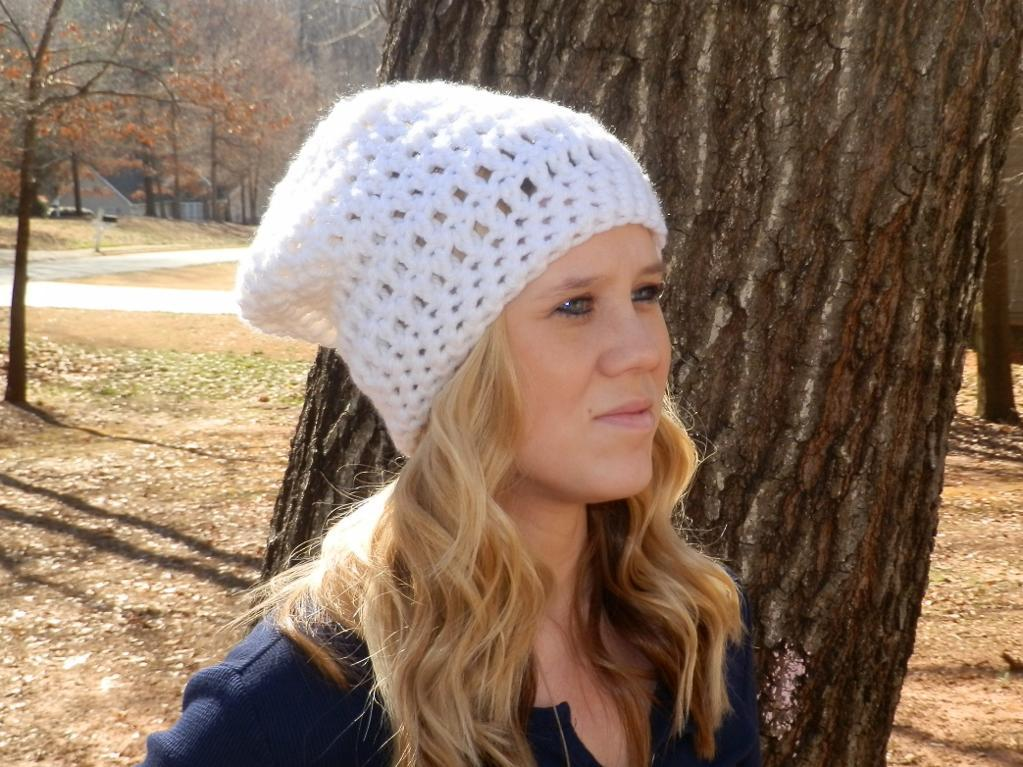 easy crochet hat easy peasy slouch hat free crochet pattern mqfsacv