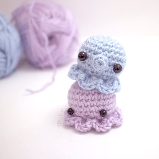 easy crochet patterns easy crochet mini octopus | 17 amazing crochet patterns for beginners atuhzzr