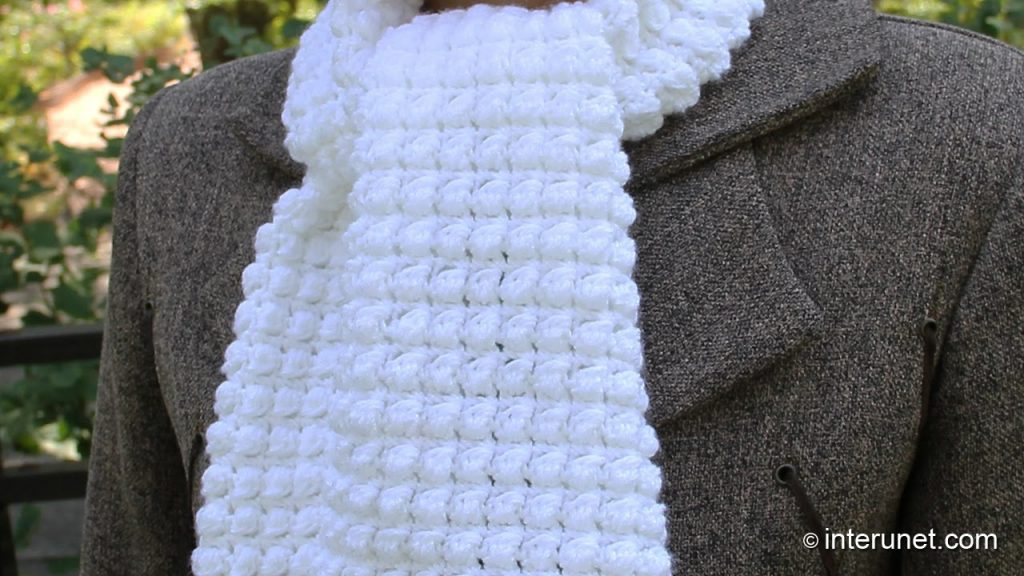 easy crochet scarf how to crochet a scarf – pattern for beginners – youtube vpppzms