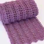 Stylish Easy Crochet Scarf for Women