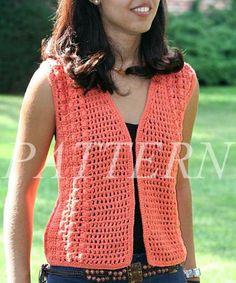 easy crochet vest pattern | misti alpaca crochet open weave vest pattern - gdzaptv