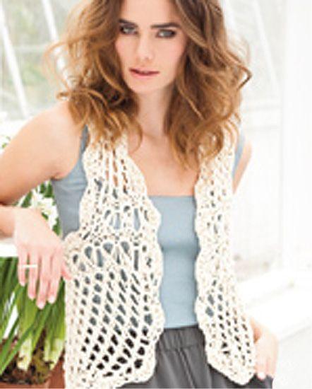 easy crochet vest pattern xuimkzu