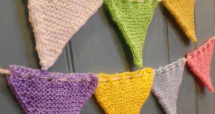 easy knitting patterns free bunting flag free knitting pattern vamzrpu