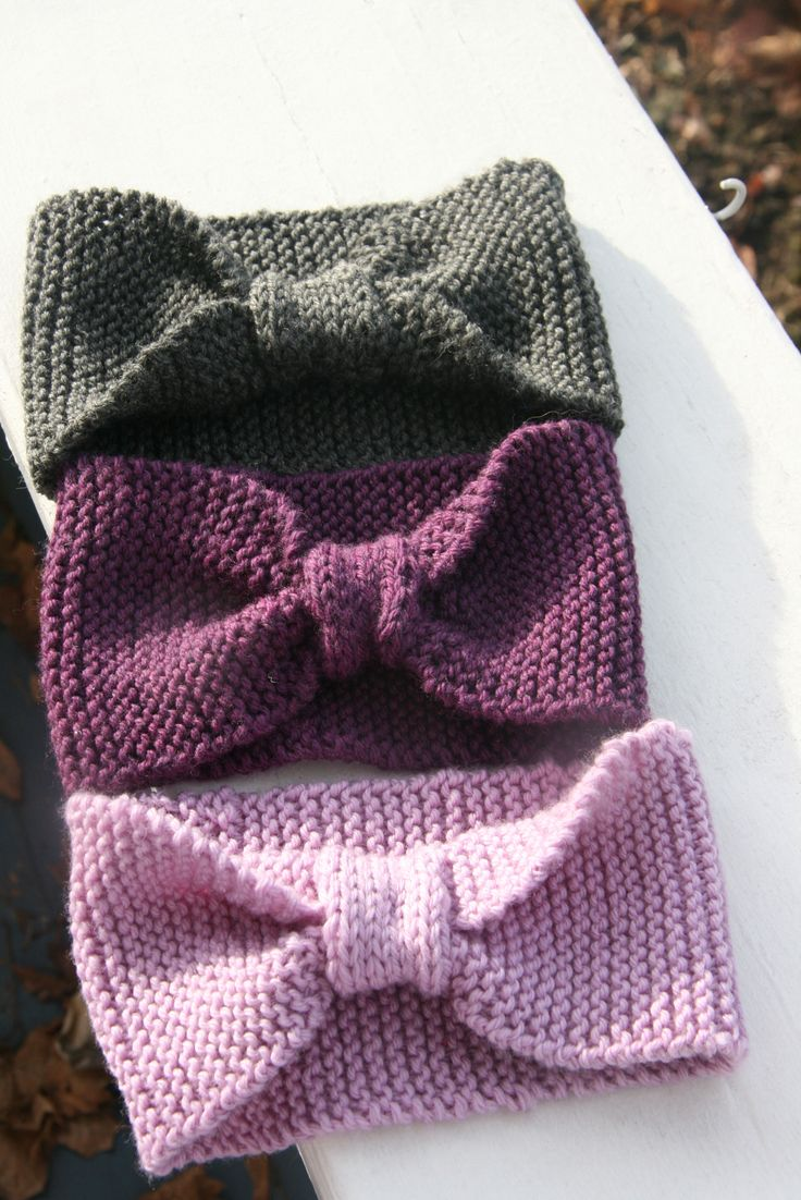 easy knitting projects this is a friendu0027s blog. a beginner could do this knitted headband; simple chblcbo
