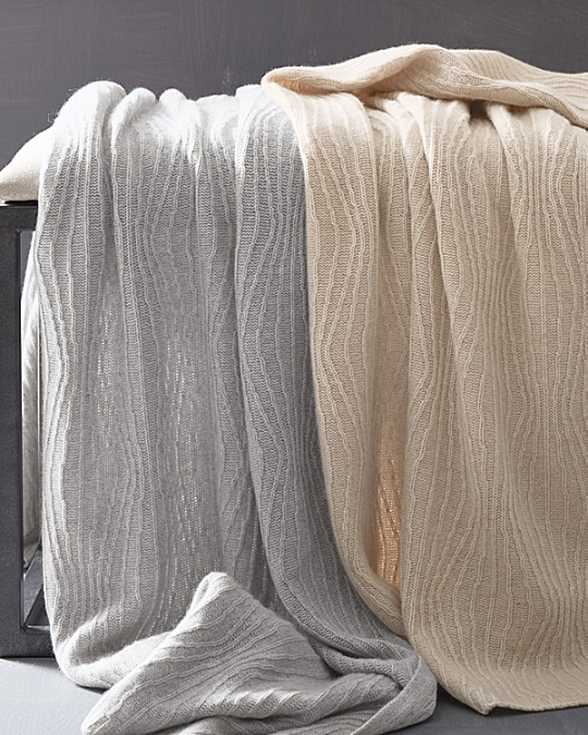 eileen fisher waves cashmere throw kqczqpi