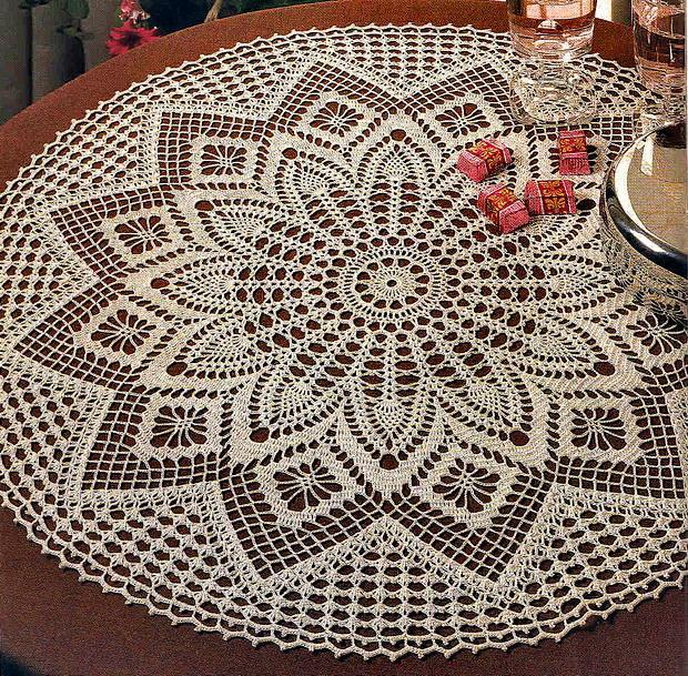 elegant decorative crochet tablecloth ztdkpls