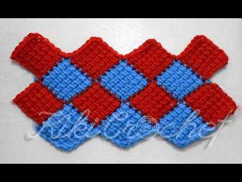 entrelac crochet crochet entrelac stitch - youtube pjougxu