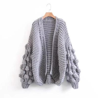 extreme chunky knit cardigan-loosely store urswtdw