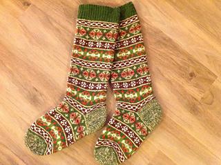 Fair Isle Knitting 1920s socks ... qnrmwhw