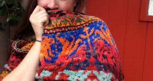 Fair Isle knitting patterns dragon ride shawl ... ltjhkku