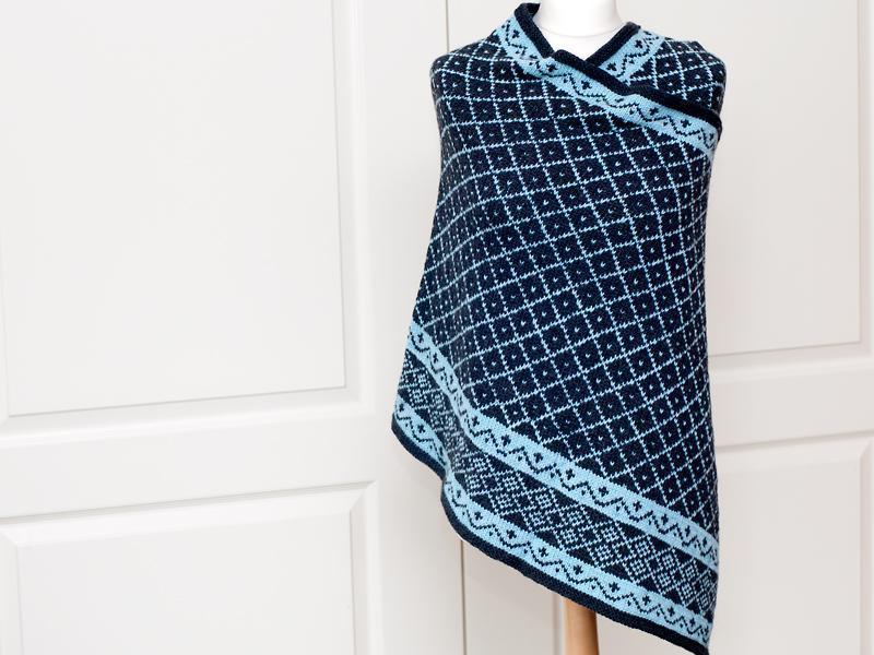 Fair Isle knitting patterns enya rectangle fair isle shawl free knitting pattern gjbzoer