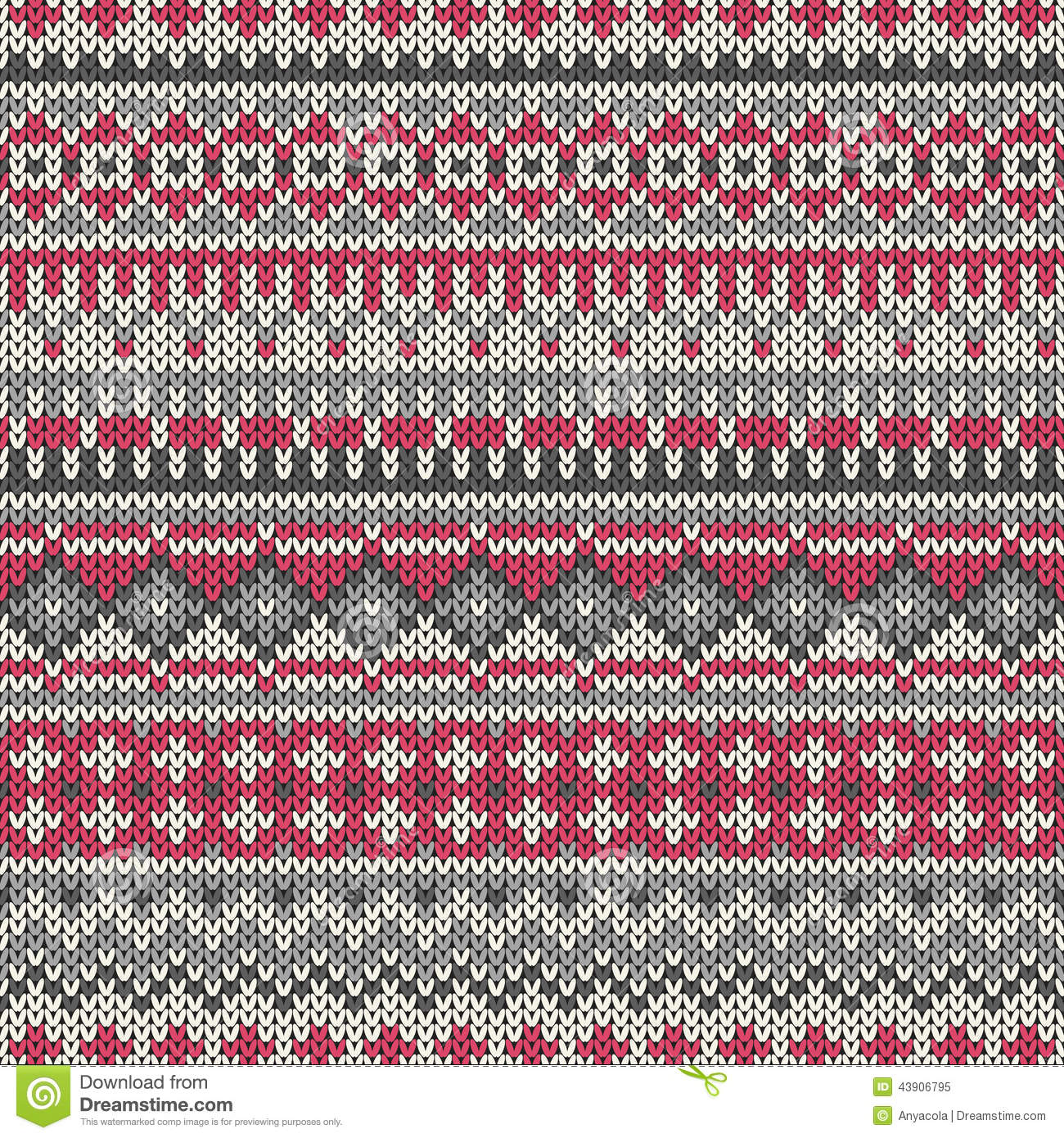 Awesome Easy Fair Isle Knitting Patterns Crest - Blanket Knitting ...