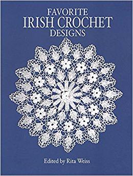 favorite irish crochet designs (dover knitting, crochet, tatting, lace):  rita weiss: 9780486249629: vjdrwof