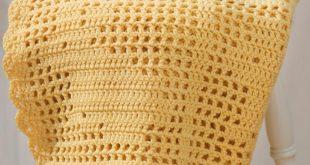 filet crochet bunny blanket · crochetfiletbunnyafghan ulpzdgt