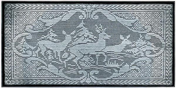 filet crochet deer pattern ijxyxzo