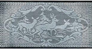 filet crochet patterns filet crochet deer pattern vgknojj