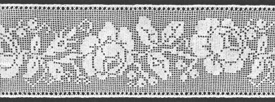 About filet crochet patterns thefashiontamer filet crochet patterns wide rose insertion filet crochet pattern amxzhfr dt1010fo