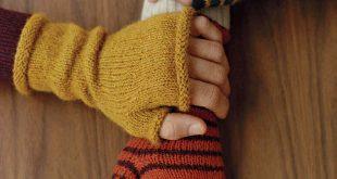 fingerless mittens | martha stewart evheuct