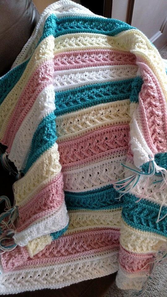 free afghan crochet patterns arrow stitch crochet afghan