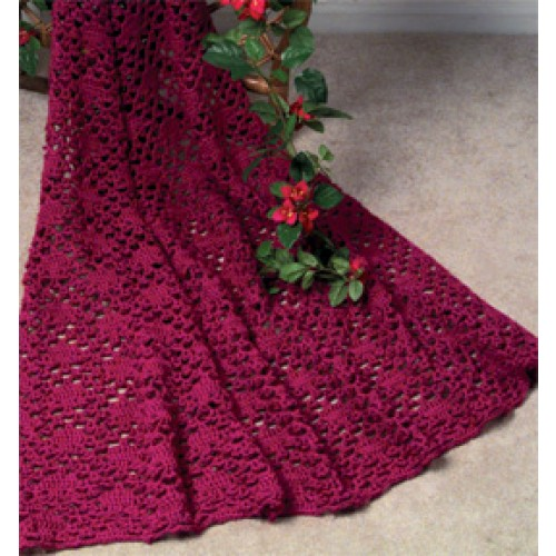 free afghan crochet patterns free lace enchantment afghan crochet pattern fhcguan