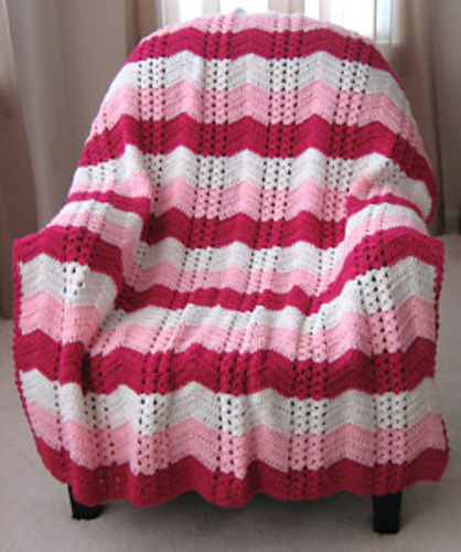 free afghan crochet patterns white chocolate strawberry double shell ripple ... rmccdyi