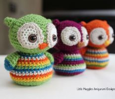 free amigurumi patterns lovely little stripy owl with adorable big eyes. free crochet pattern ... dracmzm