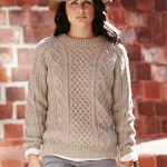 free aran knitting patterns oats and honeycomb cabled