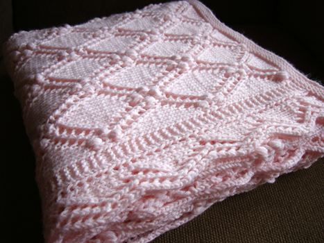 free baby blanket knitting patterns - 1 ppipzek
