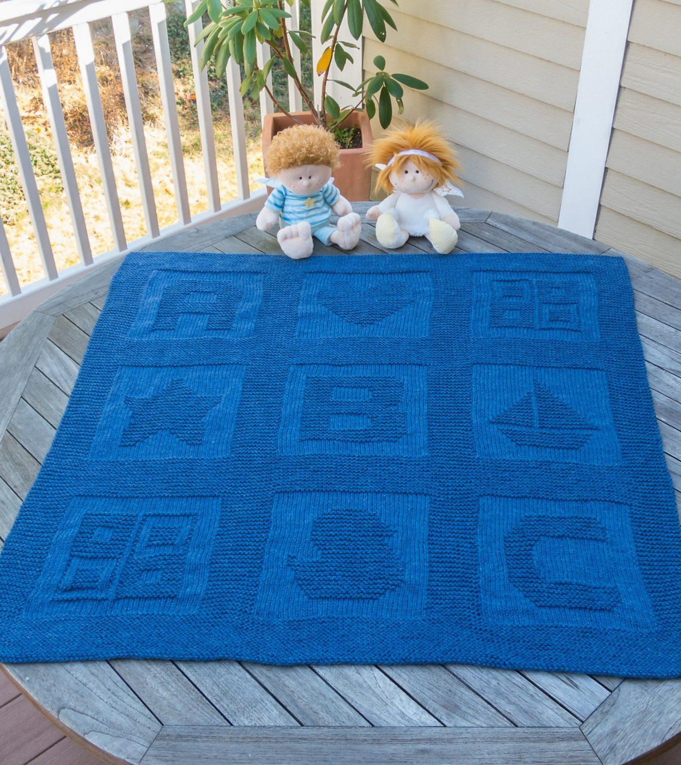 The Beautiful Free Baby Blanket Knitting Patterns