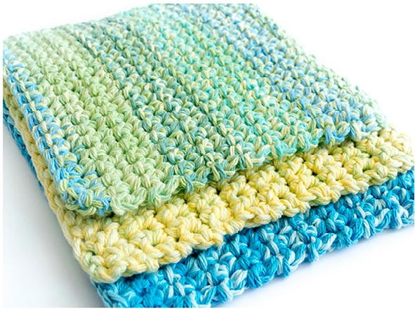 free crochet dishcloth patterns for beginners ewcayop