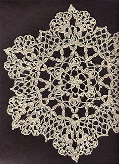 free crochet doily patterns ravelry: lacy six point doily pattern by cheri mancini - free pattern - mhyqgga