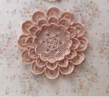 free crochet doily patterns ruffled flower doily pattern fsxhfmj