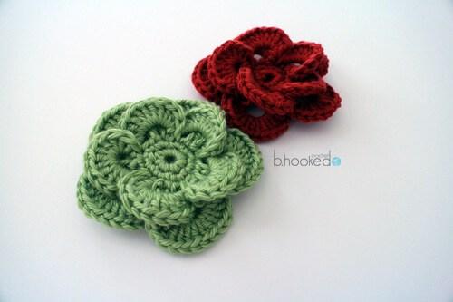 free crochet flower patterns 2. wagon wheel flower vcqtnmj