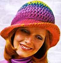 free crochet hat patterns a rainbow hat qvvhnln