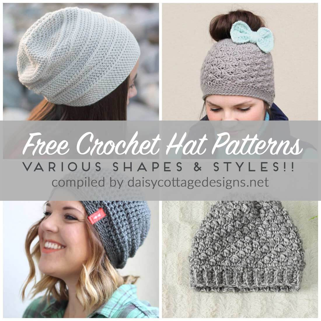 free crochet hat patterns | free crochet patterns