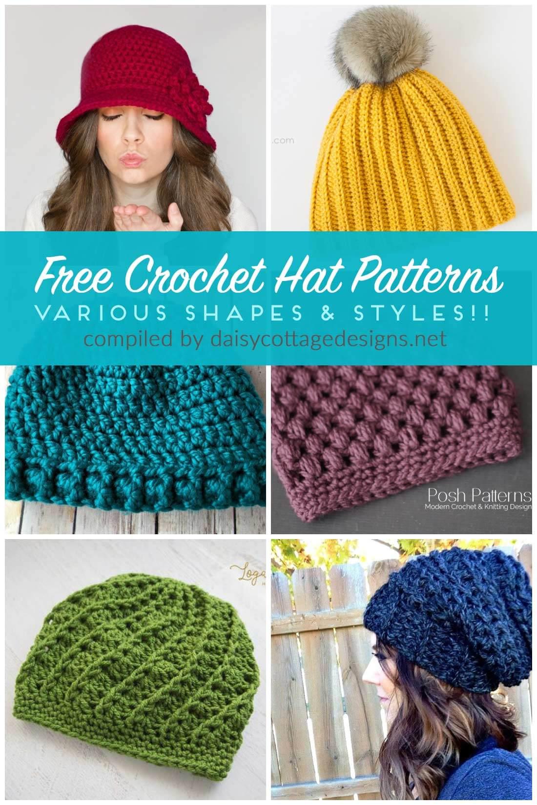 free crochet hat patterns | free crochet patterns | crochet patterns | use lzqnfdz