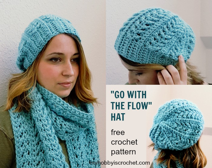 free crochet hat patterns go with the flow hat free crochet pattern on myhobbyiscrochet.com ylcaxhh