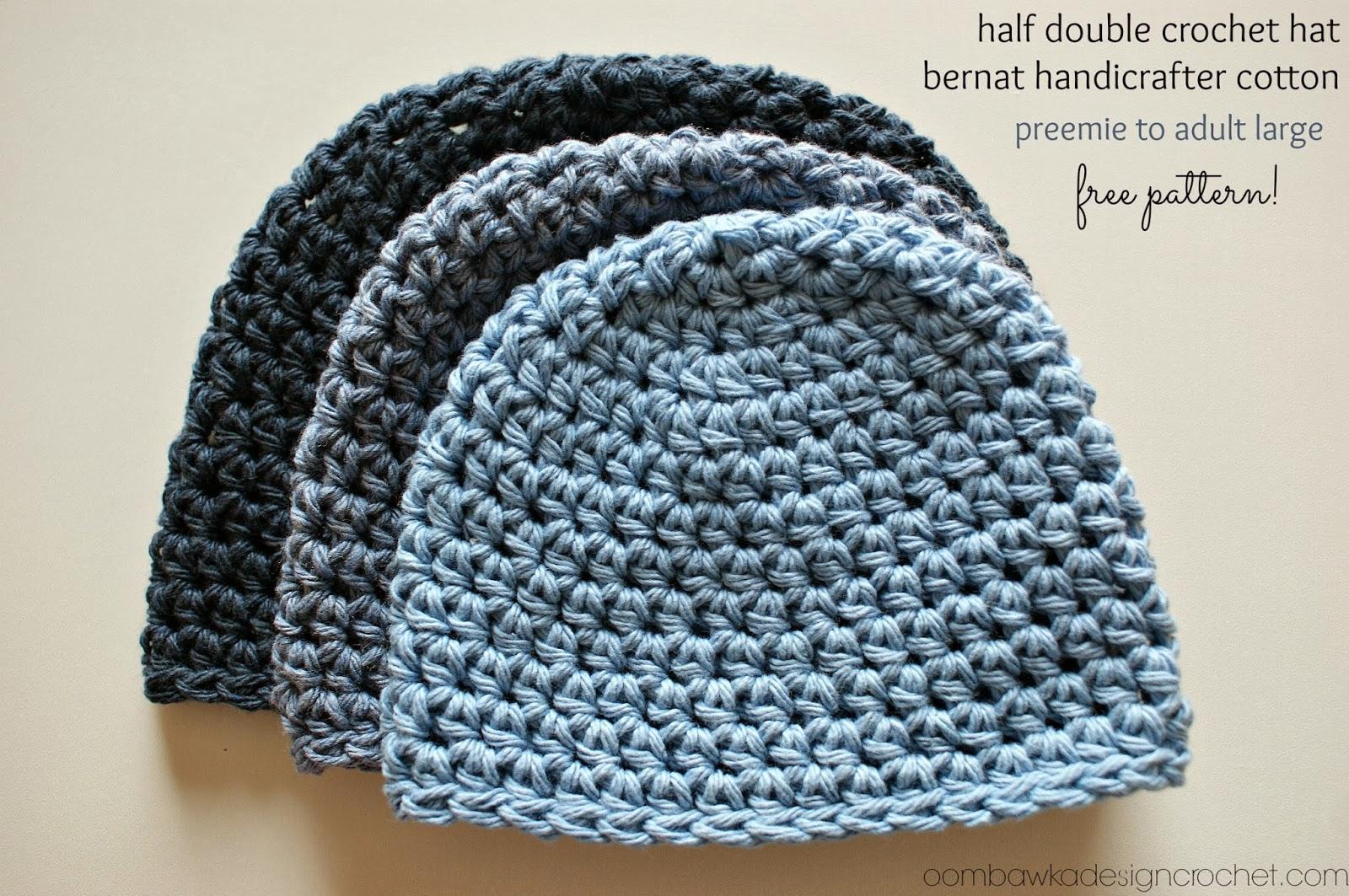 free crochet hat patterns half double crochet hat pattern #2 free pattern cdtbjkp