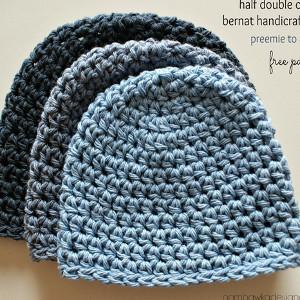 free crochet hat patterns half double crochet hat