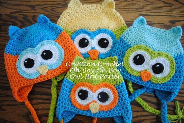 free crochet owl hat pattern oh boy oh boy gganrlt