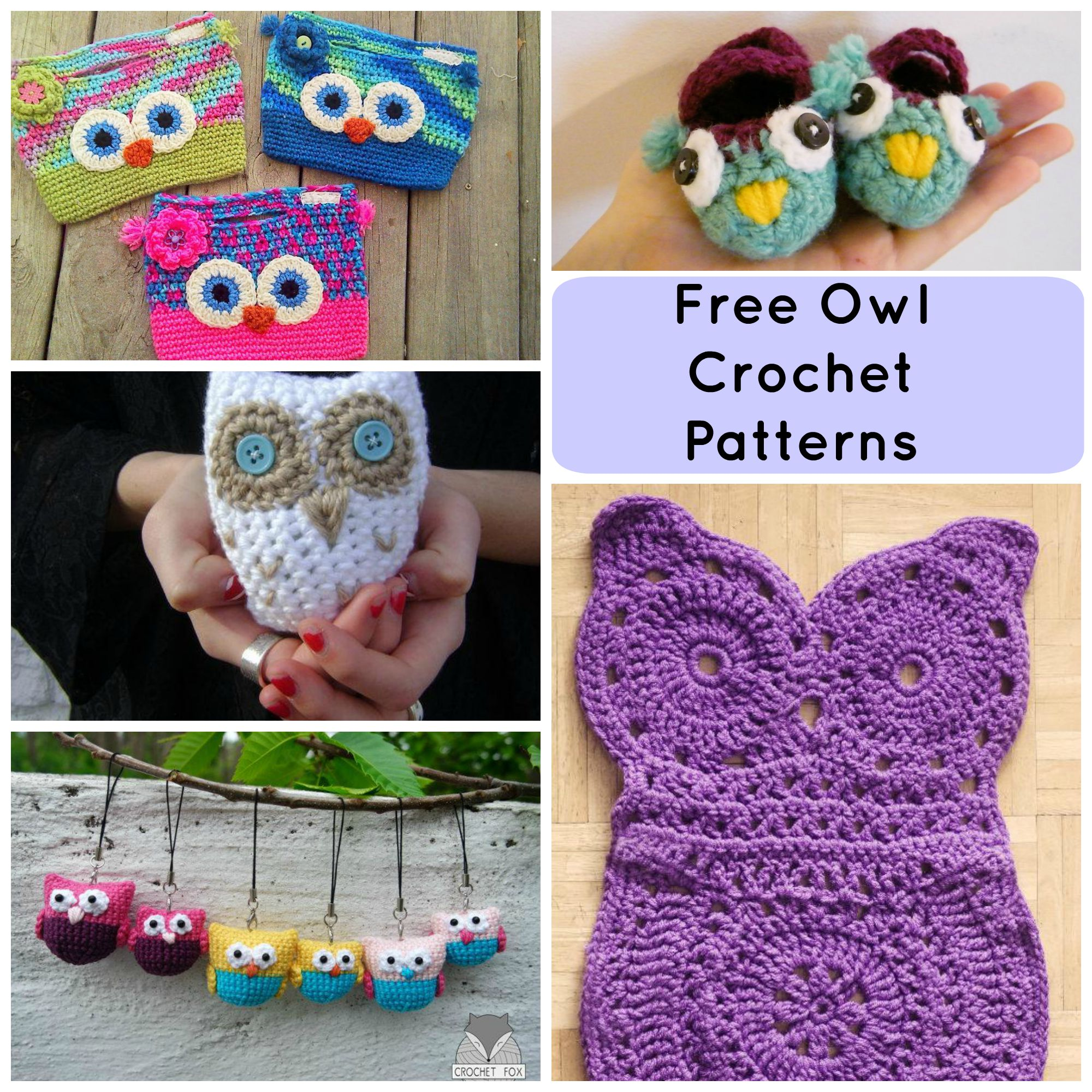 free crochet patterns 7 hoot-worthy free crochet owl patterns mljzacm