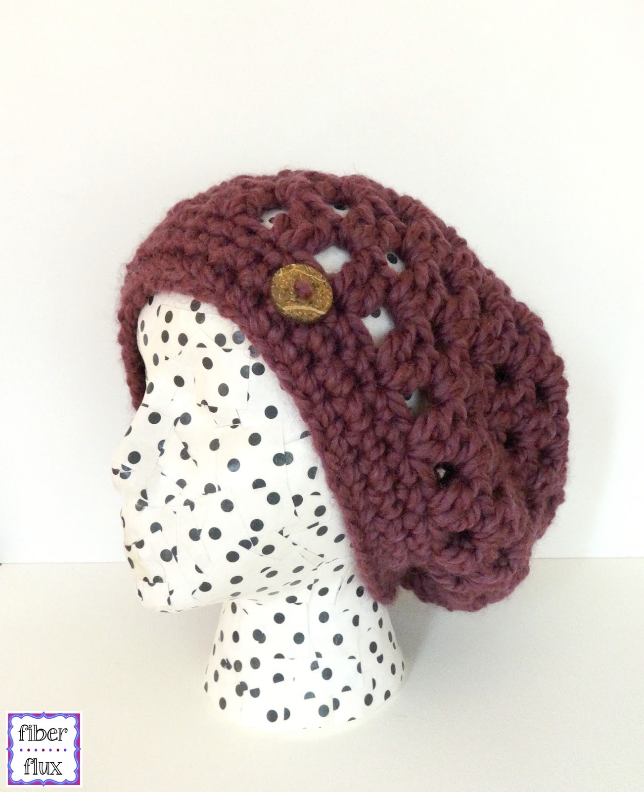 free crochet patterns free crochet pattern...fiona button slouch! wsghedx