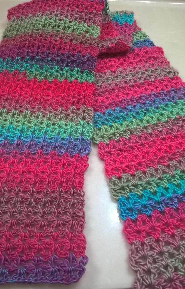 free crochet scarf patterns get the free pattern. rainbow scarf tsxiiiz