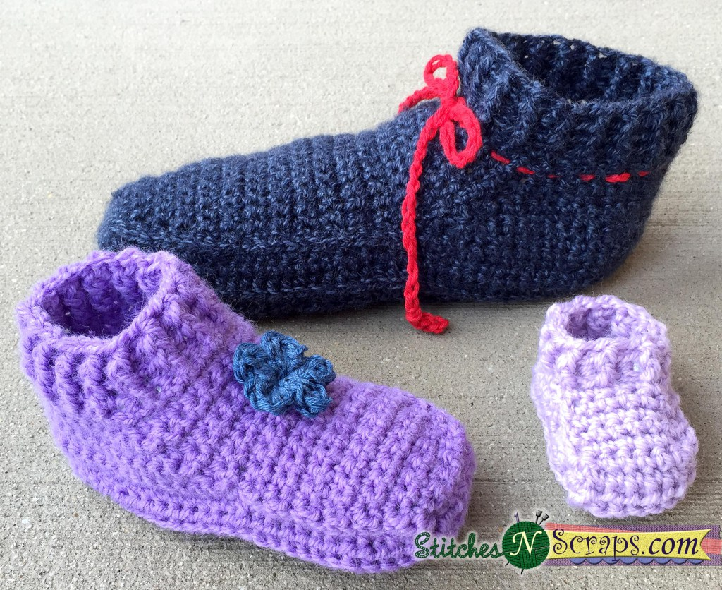 free crochet slipper patterns menu0027s quick and easy