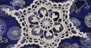 free crochet snowflake pattern oglcwuj