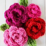 How to make Crochet Roses