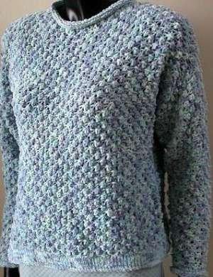 Free Knitting Patterns cotton twirl striped hat -