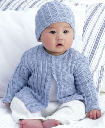 free knitting patterns for babies free-baby-cardigan-and-hat-knitting-pattern jahxccq